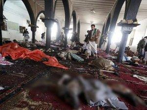 Yemen'de camiye kanlı saldırı: 55 ölü