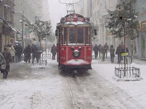 İstanbul'a soğuk hava ve kar alarmı