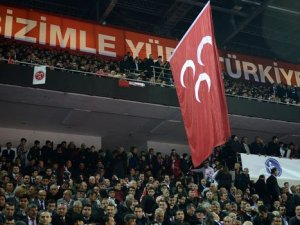 Devlet Bahçeli Kurultay'da sert konuştu: AKP- PKK resmi söz kesmiştir