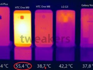HTC One M9 'un ateşi OTA güncellemesi ile düşürüldü