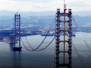 Körfez Köprüsü'nde kablo koptu