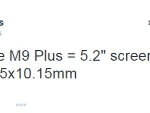 One M9 Plus hakkında yeni bilgiler geldi