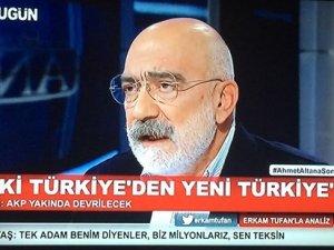 Ahmet Altan: AKP yakında devrilecek