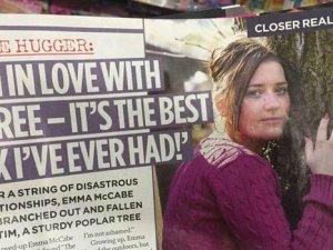 Kavak ağacıyla seks yapıyor!