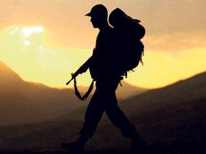 TSK: Bölücü terör örgütü PKK'nın 3 adet havan atışına ateşle karşılık verildi