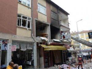 Ankara'da doğalgaz patladı