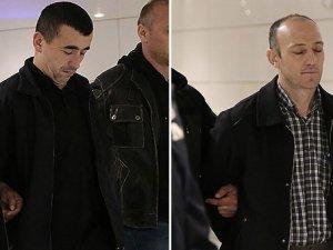 Romanya'da yakalanan iki eski polis İstanbul'da