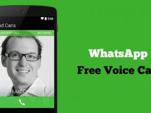 WhatsApp Arama Özelliği kullanıma sunuldu