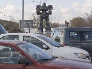 """Melih Gökçek'in """"transformes""""ı Ankara sokaklarında"""