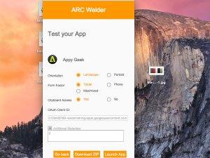 ARC Welder ile Chrome tarayıcısında Android uygulama keyfi