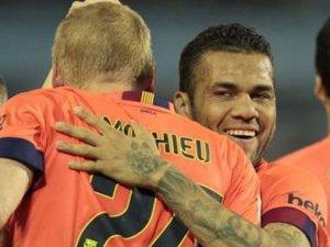 Barcelona 3 puanı tek golle aldı