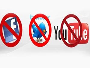 İnternet yasağı dünya basınında