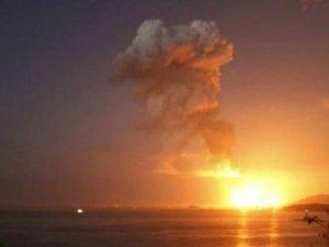 Çin'de kimyasal fabrikada patlama