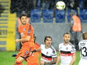 Beşiktaş Başakşehir ile 0-0 berabere kaldı