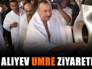 Aliyev umre ziyareti yaptı