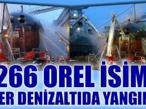 Rusya'da bakımda olan nükleer denizaltıda yangın çıktı