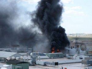 Kuyumcukent'te korkutan yangın