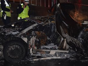 İstanbul'da korkunç kaza: Yanarak öldü