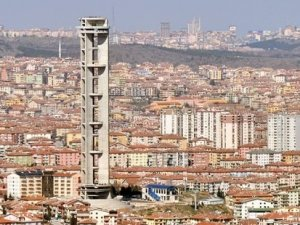 Ankara'da, 'Türkiye'nin en yükseği' olması hedefiyle 27 milyon harcanan kule yıkılacak!