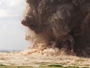 IŞİD antik kenti havaya uçurdu