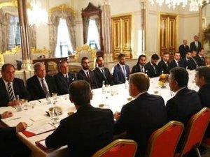 Cumhurbaşkanı Erdoğan ve kaptanlar Ak Saray'da ne konuştu?