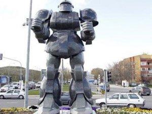 Ankara'ya ilerideki günlerde metro değil dinozor heykeli geliyor