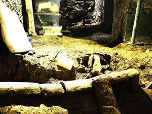 Beyoğlu'nun altında yatan Bizans mezarı