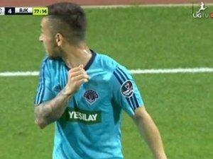 Kasımpaşa-Beşiktaş maçında 'Emenike vakası'
