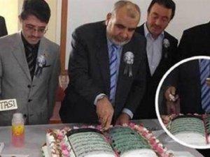 Zile Müftülüğü'nden Kuran-ı Kerim tasarımlı pasta skandalı