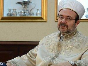 Mehmet Görmez: Papa'nın söylemlerini ahlaki bulmuyorum