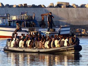 Akdeniz'de batan tekne 'kurtarma gemisine çarpmış'