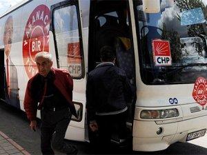 Antalya'da CHP otobüsüne taşlı saldıır