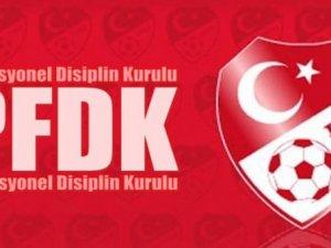 PFDK yine ceza yağdırdı