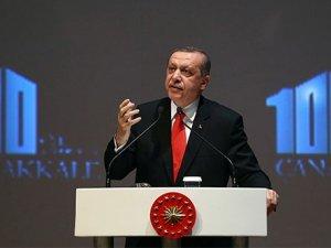 Cumhurbaşkanı Erdoğan'dan ayin mesajı geldi