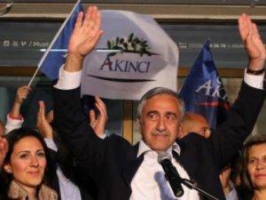 KKTC yeni Cumhurbaşkanı Mustafa Akıncı oldu