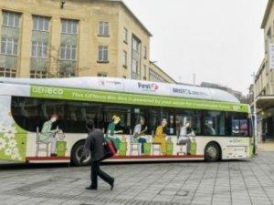 İnsan dışkısıyla çalışan otobüs kokmuyor