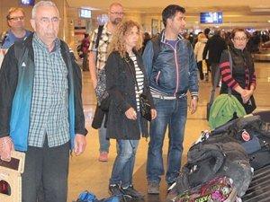 Nepal'daki 242 vatandaşımız Türkiye'ye geldi