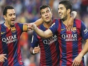 Barça gol bombardımanına tuttu