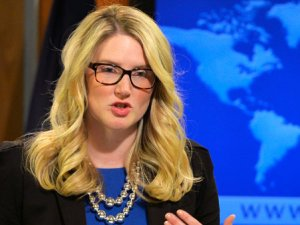 Marie Harf'ten Gökçek'in 'Come on blonde' tweetine yanıt