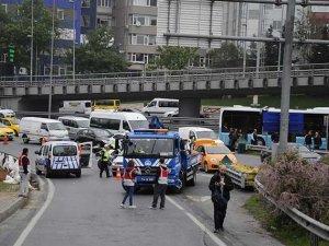 İstanbul'da yollar kapalı