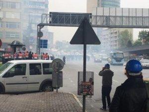 Zincirlikuyu ve Okmeydanı'nda polis müdahalesi