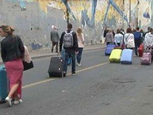 Turistlere 1 Mayıs çilesi