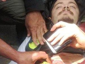 Beşiktaş'ta bir eylemci bıçaklandı