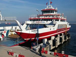 İstanbullines'ın yeni feribotu Hamidiye Eskihisar-Tavşanlı hattında sefere başladı