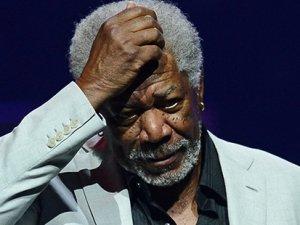 Morgan Freeman'dan medyaya sert tepki