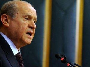 Devlet Bahçeli seçim mitingine Çankırı'da başladı