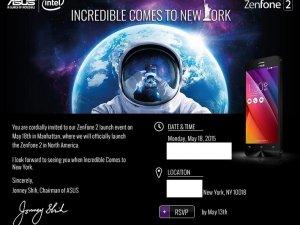Asus Zenfone 2, 18 Mayıs'ta tanıtılacak