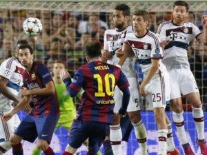 Alman panzerine 'Messi' çarptı