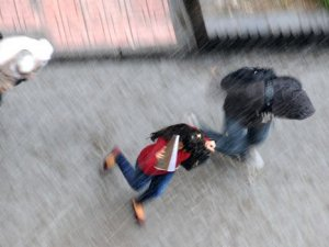 İstanbul'da beklenen o yağış başladı