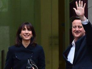 İngiltere'de zafer Muhafazakar Parti'nin